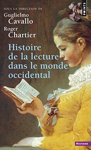 Histoire de la lecture dans le monde occidental par Guglielmo Cavallo
