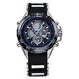 Fashion Watches Schöne Uhren, WEIDE Männer sportlich Analog-Digital-Uhr Kautschukband Stoppuhr/Alarm-Hintergrundbeleuchtung/w