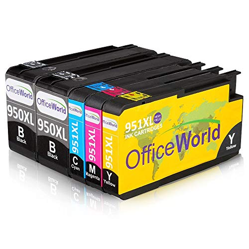 OfficeWorld 950XL 951XL Reemplazo HP 950