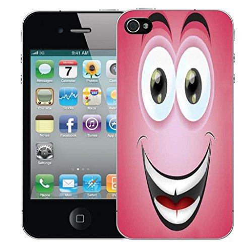 Nouveau iPhone 5 clip on Dur Coque couverture case cover Pare-chocs - humingbird vert Motif avec Stylet grining caricature