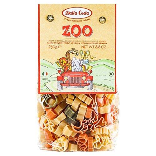 Dalla Costa Tri-Colour Zoo Pasta 250g