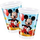 Ratón Mickey - Fiesta Cumpleaños Taza Vaso 8 Unidad Mickey Mouse