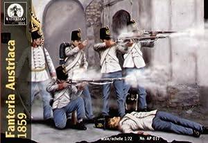 Waterloo INFANTERIA AUSTRIACA 1859