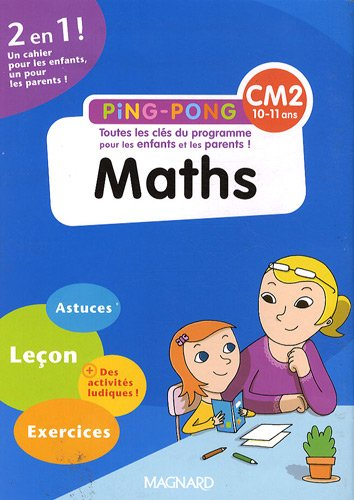 Maths CM2 par Bernard Séménadisse, Maguy Cazalot