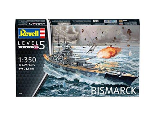 Acorazado Bismarck la mejor maqueta militar naval del 2018
