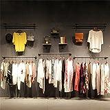 LQQ-Garderobenständer Kleiderständer Antik Hanger Stand Stöcke - perfekt für den Einzelhandel Display für Schlafzimmer Wohnzimmer (Farbe : #3-100cm)