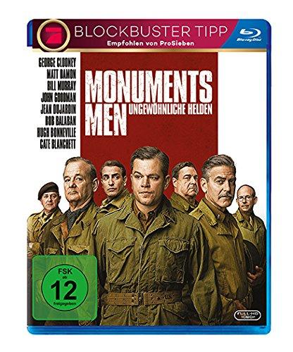 Bild von Monuments Men - Ungewöhnliche Helden [Blu-ray]