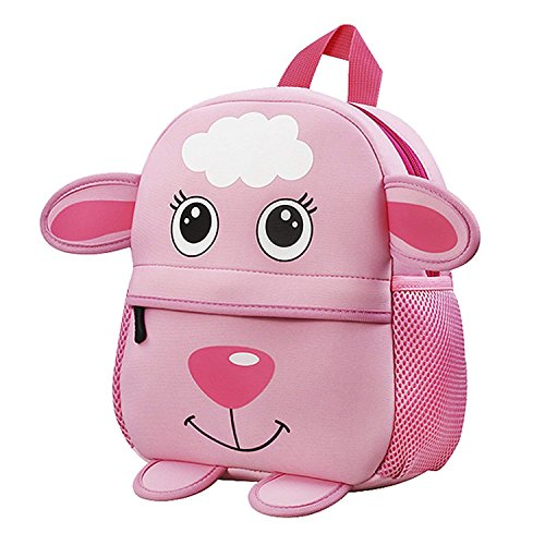 Kinderrucksack Babyrucksack Animal Schule Tasche Wasserdicht Rucksack for Kinder Baby Jungen Mädchen Kleinkind 1-8 Alter