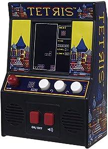 Basic Fun! ¡Diversión básica! 09594 Tetris Mini Arcade Game (4C Screen), Multicolor Juego de construcción