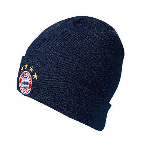 FCB München Fan-Shop Mütze navy Größe - navy (Hut Navy Fußball)