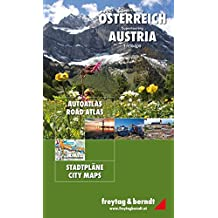 Österreich Supertouring, Autoatlas 1:150.000, freytag & berndt Autoatlanten