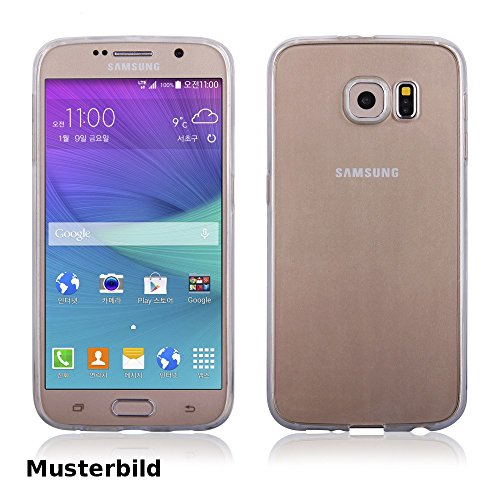 EGO® Ultra Slim Soft Back Case Gel TPU Silikon durchsichtig für Samsung J500 Galaxy J5 Cover Transparent Crystal Clear Schale Bumper Dünn Schutz Hülle Flexibel Elastic durchsichtig Case