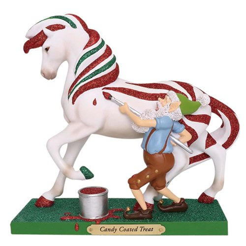 ted Ponies Candy Coated Treat Pony Horse Christmas Figurine 6001106 ()