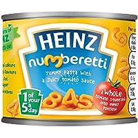 Heinz Numberetti Pasta 200g Formas