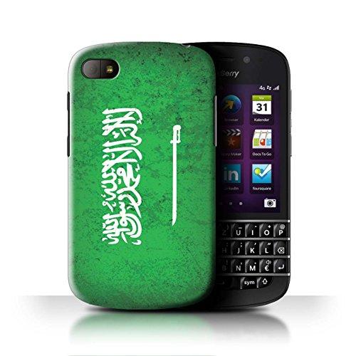 Stuff4® Hülle/Case für BlackBerry Q10 / Saudi Arabien/Arabisch Muster/Asien Flagge Kollektion (Q10 Arabisch)