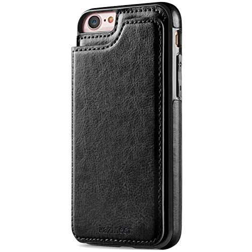 kazineer funda de piel para iPhone 6 / 6s carcasaEsta funda de piel para iPhone 6 / 6s es una carcasa protectora muy práctica, con ranuras para las tarjetas, un bolsillo para el dinero, un soporte y un cierre magnético. Todos los productos que ofrece...