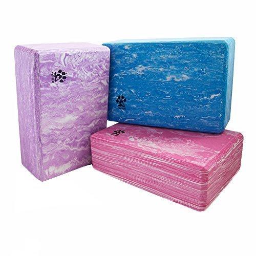 PROTONE Yoga blocco - Resistente / Firm / Leggero EVA schiuma supporto blocco (VERDE)