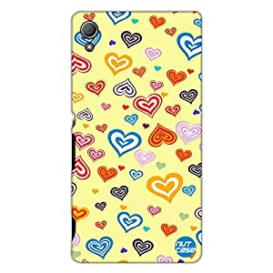 Designer Sony Xperia Z3 Case Cover Nutcase - Loving Hearts
