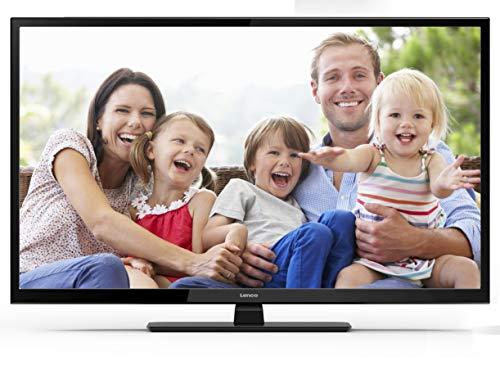Lenco LED-2822 28 Zoll (71cm) LED-Fernseher - Triple-Tuner (DVB-T/T2/S2/C) - 12 Volt Kfz-Adapter - Mit HDMI, USB SCART und Cl+ Anschluss - Fernbedienung - Schwarz