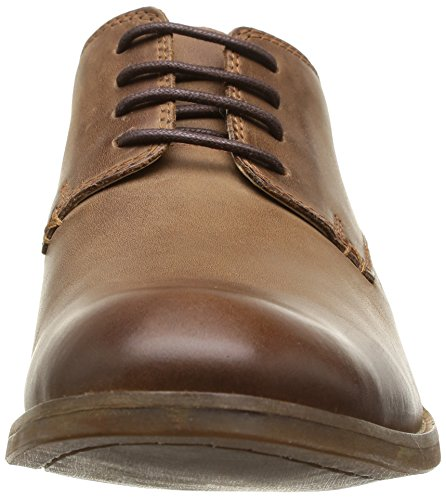 Clarks Exton Walk, Chaussures de ville homme Marron (Tobacco Leather)