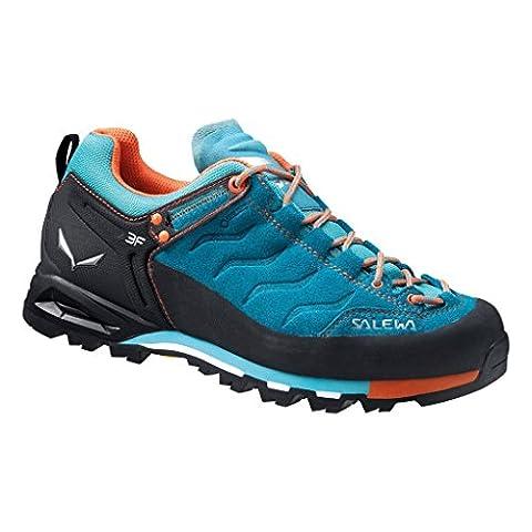 Salewa Mountain Trainer GTX 00-0000063416 Damen Bergschuhe, Blau (Venom/Tigerlilly 8455), 40,5 EU (7 Damen UK)