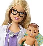 Barbie FPR44 Baby Doctor & Barbie Fashion Dolls, Multicoloured