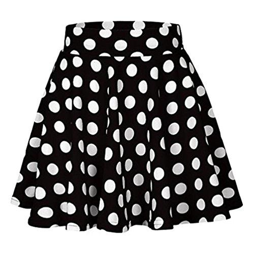 ESAILQ Damen Ultra Damen Enges Jersey-Kleid(M,Schwarz) (London Kleid Shirt Gestreiften)