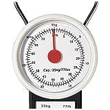 Gancho-Báscula para maleta hasta 32 KG, con medidor-mws972 analógico