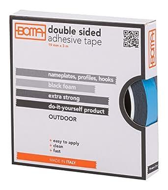 boma b53206300012 doppelseitiges klebeband f r kennzeichen profile outdoor 25 mm x 3 m. Black Bedroom Furniture Sets. Home Design Ideas