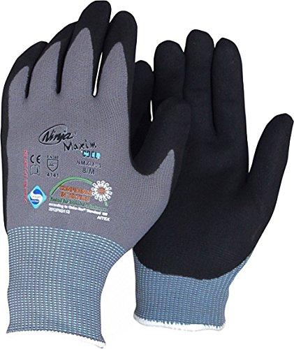 """Montage-Handschuh """"Maxim"""" EN 388 KAT2. schwarz Größe 011"""