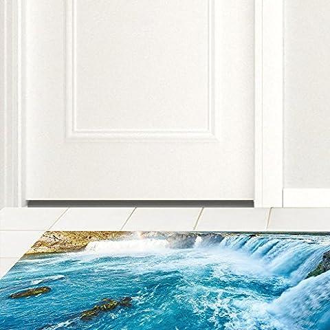 3D antiskid floor board, PVC floor, kitchen study, anti-skid floor