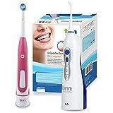 TM Electron microjet Irrigateur + brosse à dents électrique - rose rose