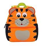 Kindergarten Kinder Rucksäcke Niedlich Cartoon Tier Kleinkind Kinder Kindergarten Schulbeutel (Tiger)