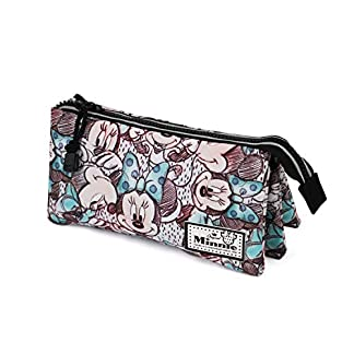 Minnie Mouse – Estuche Portatodo, Multicolor (Karactermania KM-37565)