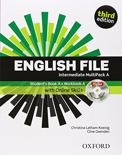 English File third edition: English file digital. Intermediate. Part A. Student's book-Workbook-iTutor-iChecker. With keys. Per le Scuole superiori. Con espansione online