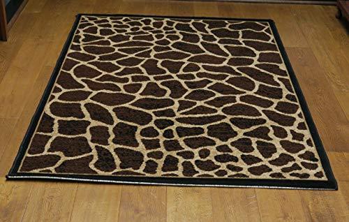 Aspekt Animal Print Out of Africa Giraffe Bereich Teppich, Polypropylen, Braun, 115x 160cm