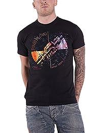 Pink Floyd T Shirt Wish You Were Here Machine Greeting Orange offiziell Herren