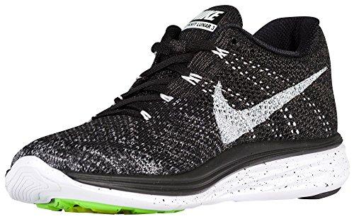 Nike  Flyknit Lunar3, Chaussures de course femmes Noir