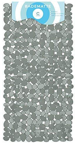 Circulators Alfombrilla bañera 70 x 35 cm gris