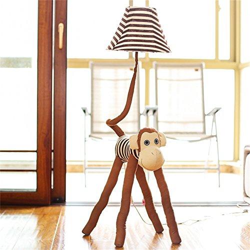 LightSei- Karikatur-reizende kleine Tiere modernes minimalistisches Wohnzimmer-Schlafzimmer Kinderzimmer Gang-Korridor-Eisen-Tuch-Fußboden-Lampen-Licht (3-tier-15-licht)