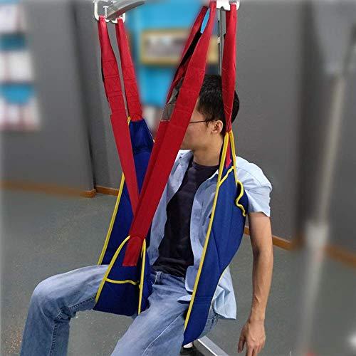 51XB43hTyiL - D&F Eslinga de Inodoro Elevador de Pacientes,Equipo de elevación con Accesorios De Bucle para Posicionamiento Y Elevación De La Cama,Enfermería,Cuidador 507 Libras