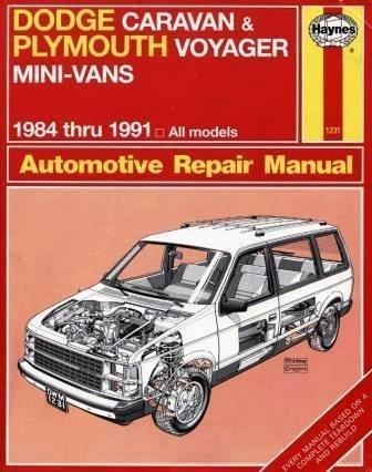 dodge-caravan-plymouth-voyager-mini-vans-1984-thru-1991-all-models-automotive-repair-manual-by-curt-