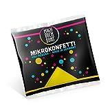 Mach Dich Bunt GmbH Mikrokonfetti - Holi Farben, Farbe:Gelb