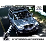 "'Kit Sistema Xenon H76000K Blanco Hielo para Hyundai Terracan """
