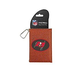 NFL Tampa Bay Buccaneers Classic Football ID Holder, One Size, Brown