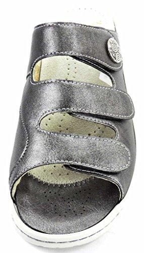 Fidelio 236015 68, Zoccoli donna Grigio (grigio)