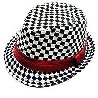Donad Fedora Cotton Hats Child Jazz Hat Toddler Kids Baby Boy Girl Cap 2-8 Years