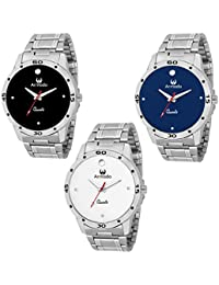 Armado AR-C1 C2 C3 Smart Stylish Watch for Men Combo of 3