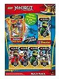 Top Media 180323 Lego Ninjago Serie IV, Multipack, 5 Booster e Carta d'oro Limitata, Multicolore