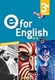 E for English 3e (éd. 2017) – Livre